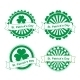 St. Patrick's Day Stamps - GraphicRiver Item for Sale