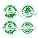 Grunge Vector St. Patrick's Day Stamps - GraphicRiver Item for Sale