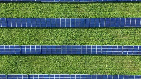 Solar Panel From Above
