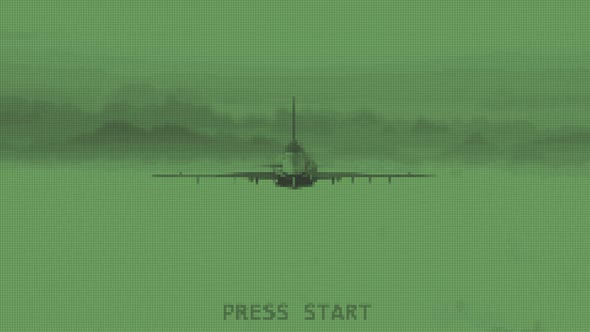 An imaginary war game 8 bit