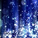 Abstract Blue Background with Glitter Particles  - VideoHive Item for Sale