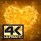 Gold Plexus Valentine's Day Heart 4K - VideoHive Item for Sale