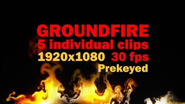 Ground Fire Pack