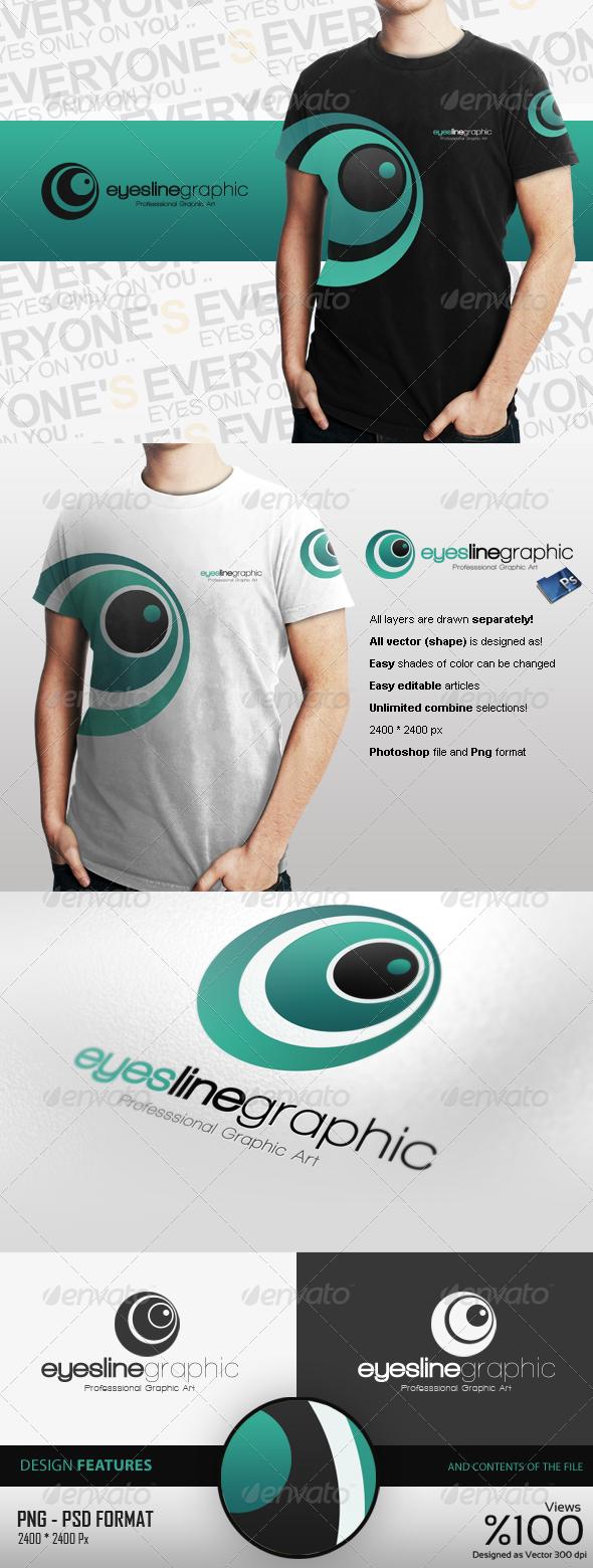 Eyeslins Graphic Logo Design