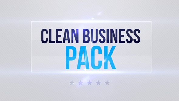 Clean Business Pack