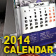 2014 - Vertical Desktop Calendar - GraphicRiver Item for Sale