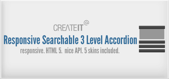 Responsive Searchable 3 Level Accordion For Wordpress Download