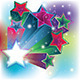 Colorful Card with Stars - GraphicRiver Item for Sale