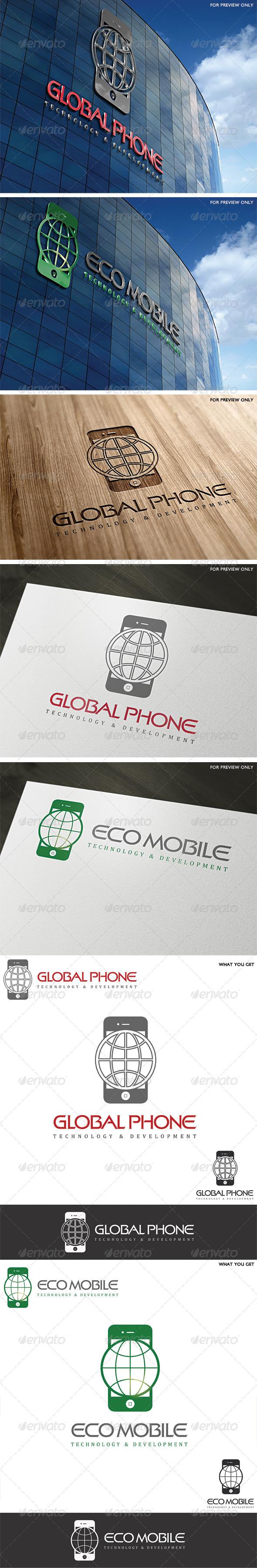 Multipurpose Mobile Phone Logo Template