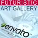 Futuristic Art Gallery - VideoHive Item for Sale