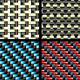 Carbon, Kevlar and Decorative Fabric - Set Four - GraphicRiver Item for Sale
