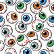 Eyeballs Seamless Background - GraphicRiver Item for Sale