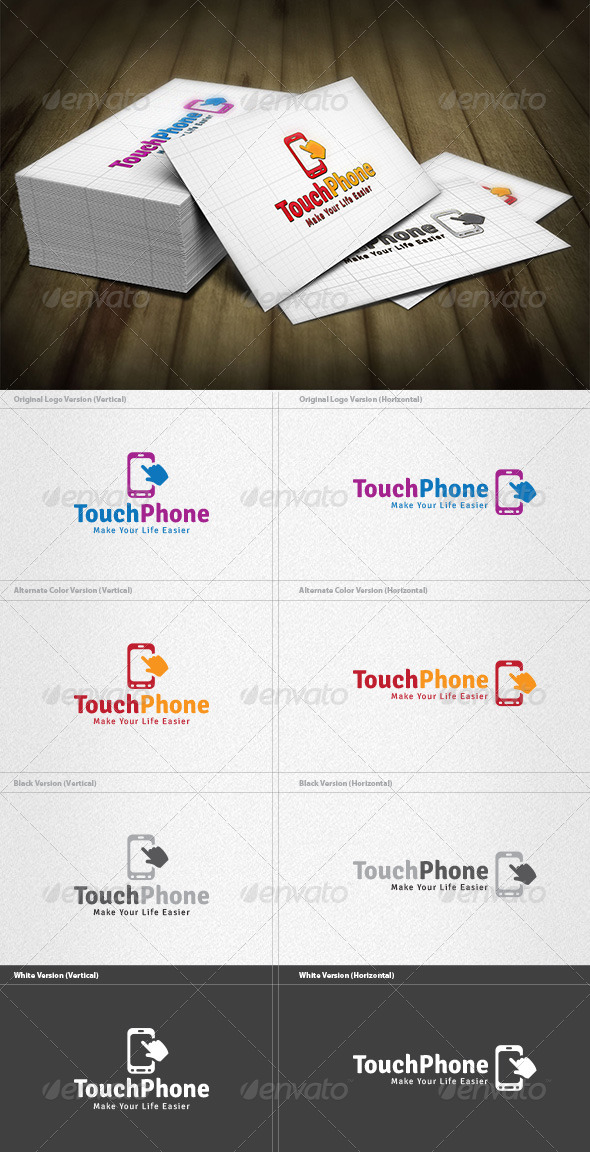 Touch Phone Logo