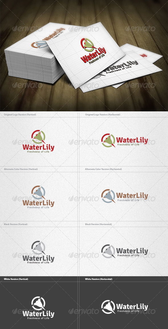 Lily Logo Templates from GraphicRiver