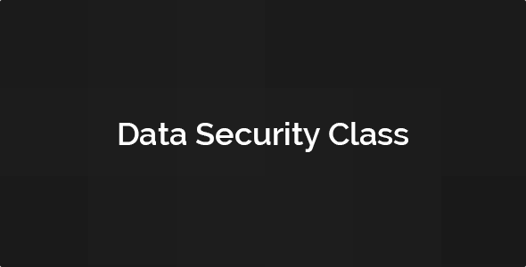 Data Security Class Download