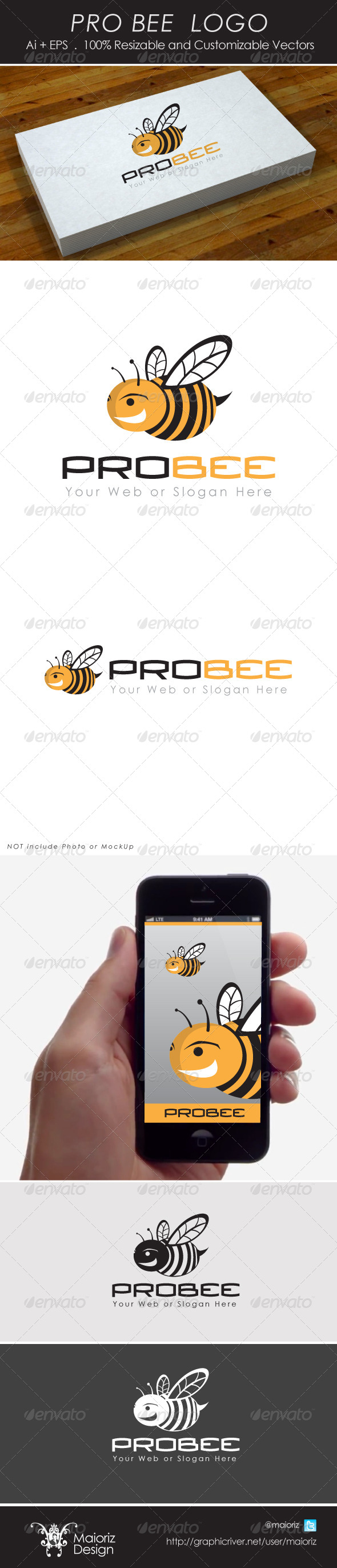 Pro Bee Logo