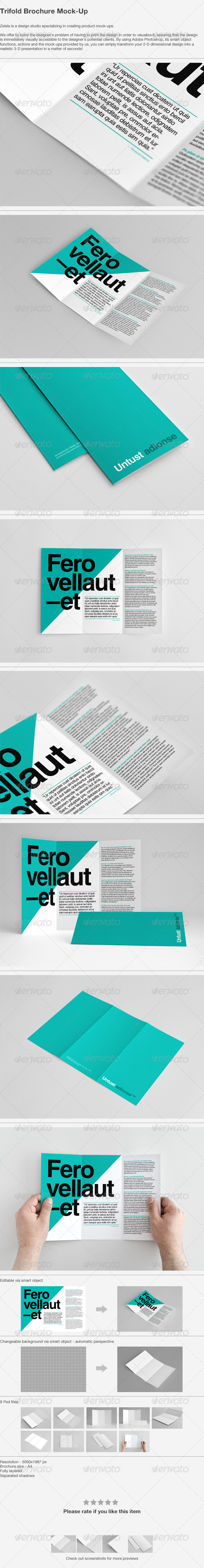 Graphicriver | Trifold Brochure Mock-Up Free Download free download Graphicriver | Trifold Brochure Mock-Up Free Download nulled Graphicriver | Trifold Brochure Mock-Up Free Download