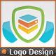 Web Security Server Shield Secure Host Logo - GraphicRiver Item for Sale