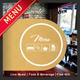 3 Fold Square Cafe Restaurant Menu - GraphicRiver Item for Sale