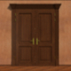 Opening Wooden Door 2 - VideoHive Item for Sale