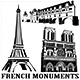 French Monuments - GraphicRiver Item for Sale