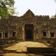 4K Doorway Entrance to Preah Khan Temple, part of Khmer Angkor Complex in Siem Reap, Cambodia - VideoHive Item for Sale
