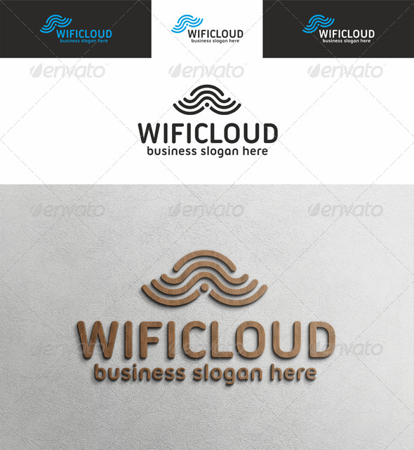 Wi Fi Cloud Logo