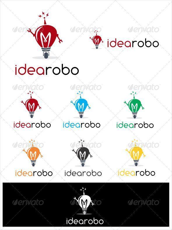 Idea Robo Logo