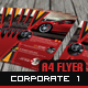 3 Optional Corporate A4 Flyer Design - GraphicRiver Item for Sale