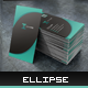 Ellipse Business Cardvisid - GraphicRiver Item for Sale