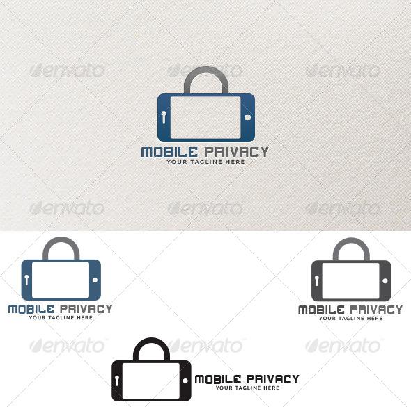 Mobile Privacy - Logo Templates