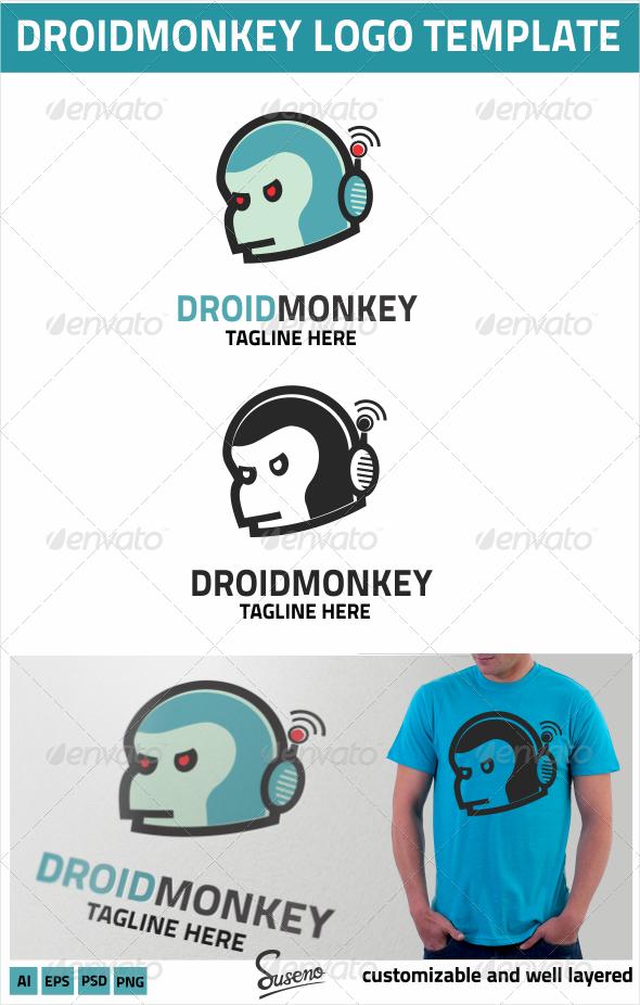 DroidMonkey Logo