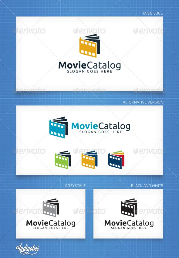 MovieCatalog - Logo Template