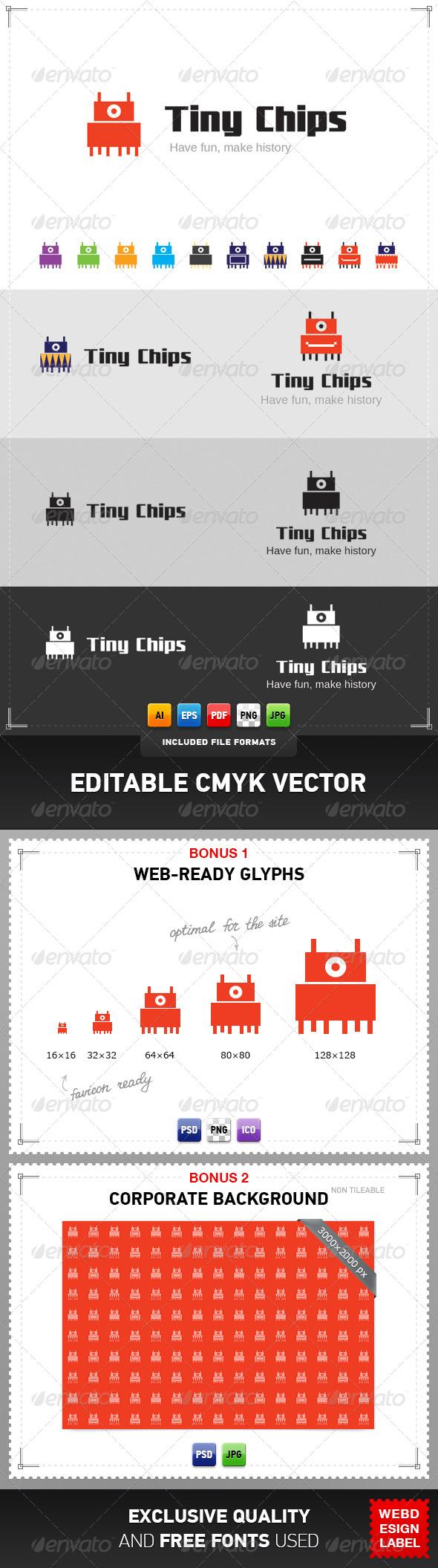 Tiny Chips Logo