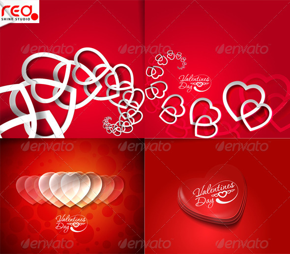 Valentines Day Hearts 1