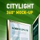 360 CityLight Mockup - GraphicRiver Item for Sale