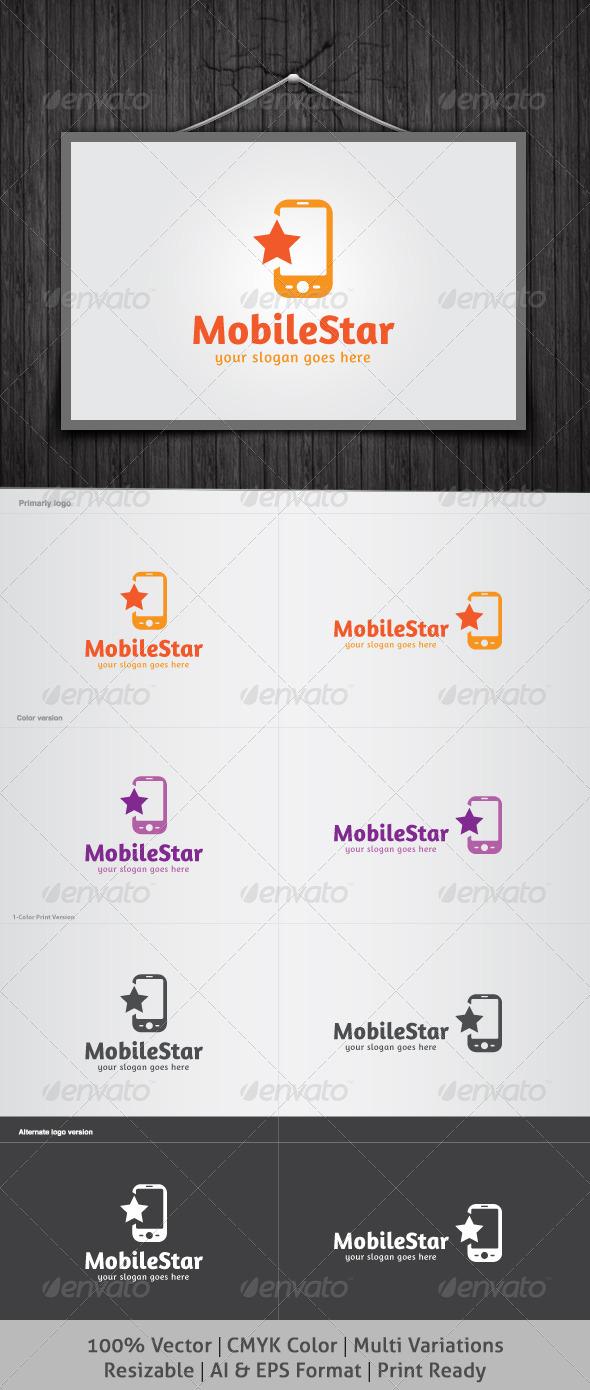 Mobile Star Logo