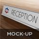Metal Name Plates Mockup - GraphicRiver Item for Sale