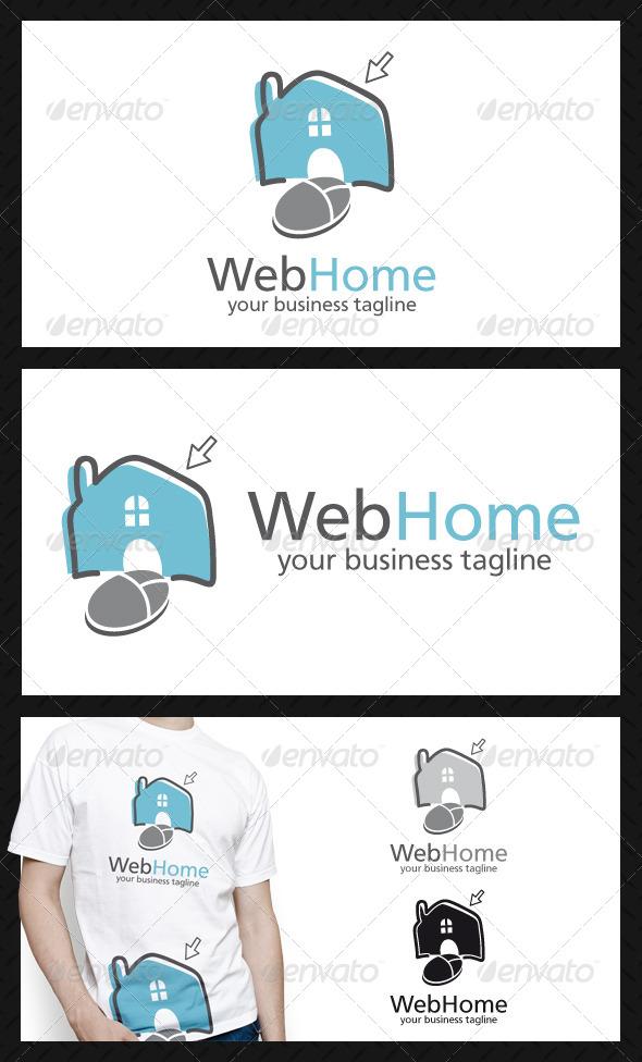 Web Home Logo Template