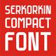 Serkorkin Compact Regular Font - GraphicRiver Item for Sale