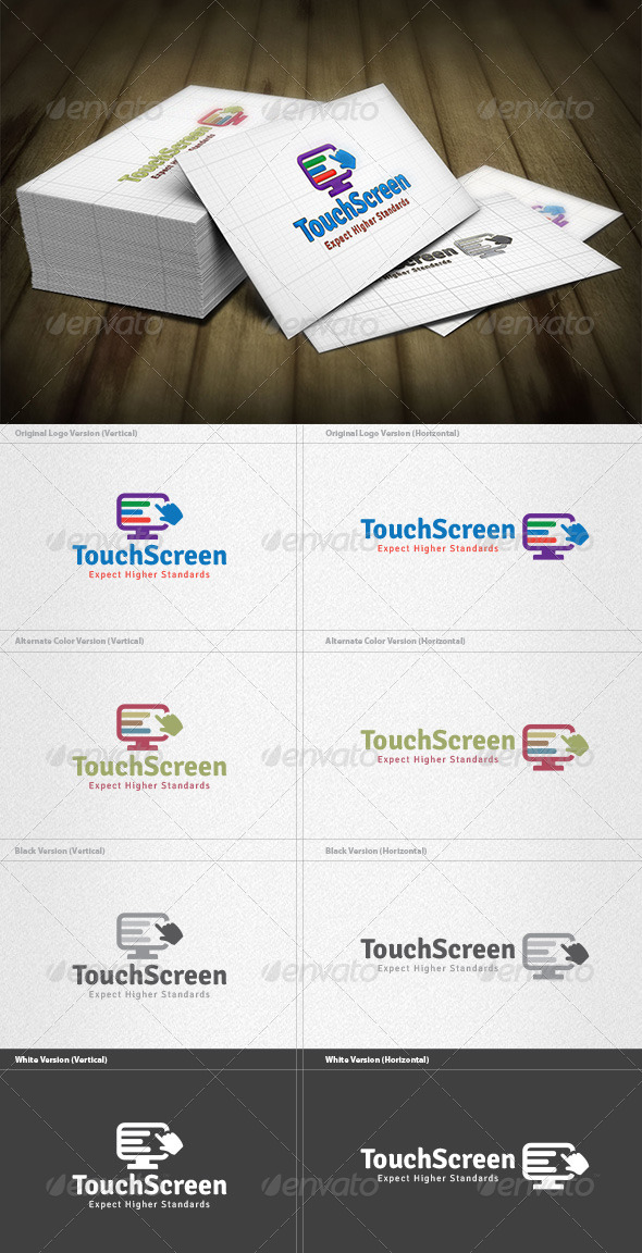 Touch Screen Logo