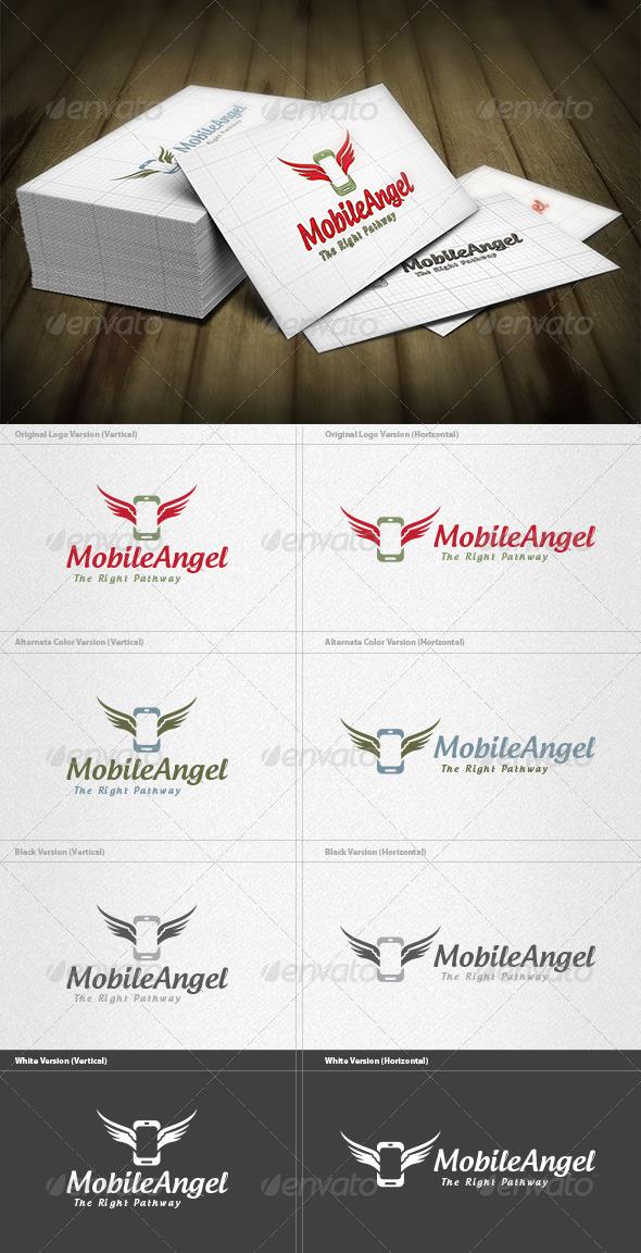Mobile Angel Logo