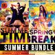 Summer Flyer Bundle Vol_01 - GraphicRiver Item for Sale