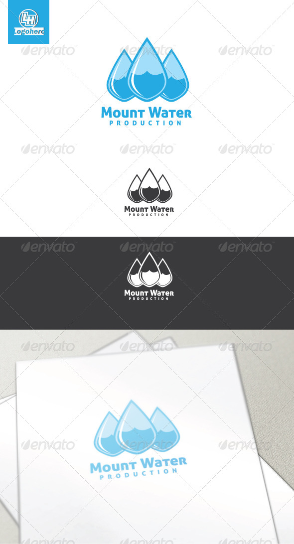 Mount Water Logo Template
