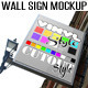 Wall Hanging Sign Mockup - GraphicRiver Item for Sale