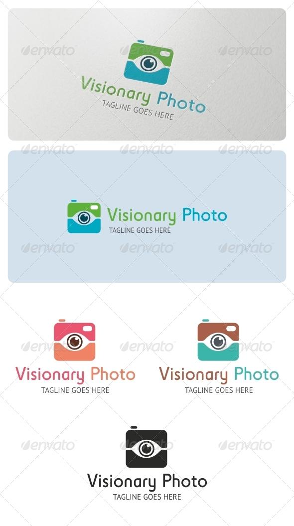 Visionary Photo Logo Template