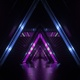 Neon Triangle Tunnel Vj - VideoHive Item for Sale