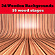 3D Wooden Backgrounds - GraphicRiver Item for Sale