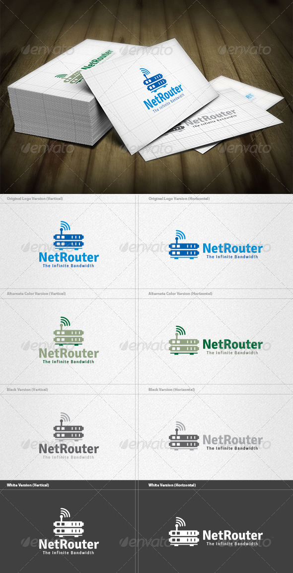 Network Router Logo