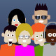 Square Heads Avatars Vector Pack - GraphicRiver Item for Sale
